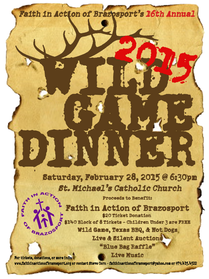 wild game dinner flyer ecza productoseb co