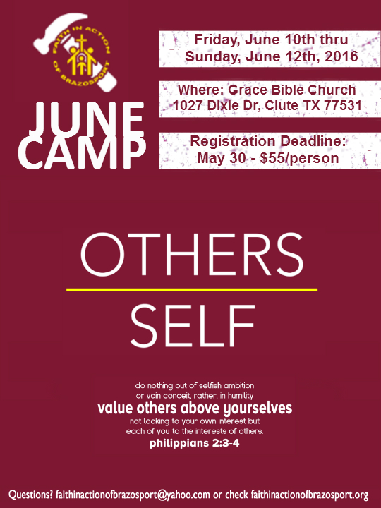 Camp Flyer June